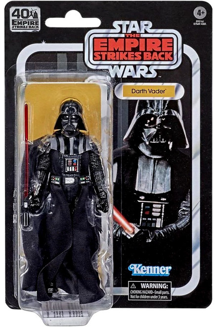 Star Wars The Empire Strikes Back 40th Anniversary Wave 3 Darth Vader Action Figure (Pre-Order ships October)
