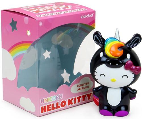 Hello Kitty Unicorn 8-Inch Art Figure [Black] (Pre-Order ships June)