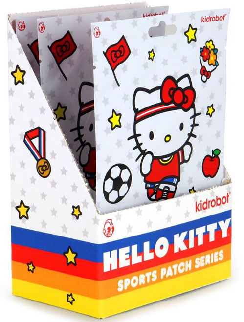 Sanrio Hello Kitty Patch Series X Sports Mystery Box [24 Packs]