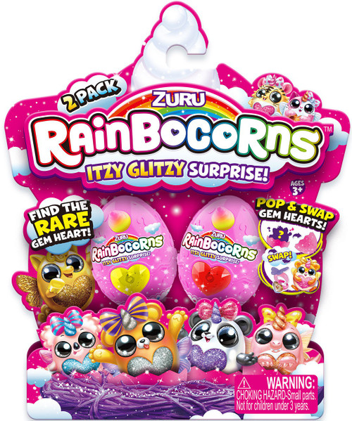 Rainbocorns Itzy Glitzy Series 1 Mystery 2-Pack [2 RANDOM Eggs!]