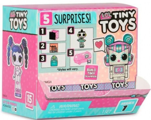 LOL Surprise Series 1 Tiny Toys Mystery Box [18 Packs]