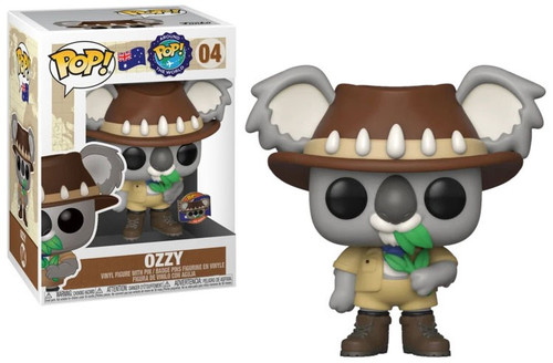 Funko POP! Around the World Ozzy with Pin Vinyl Figure #04 [Australia]