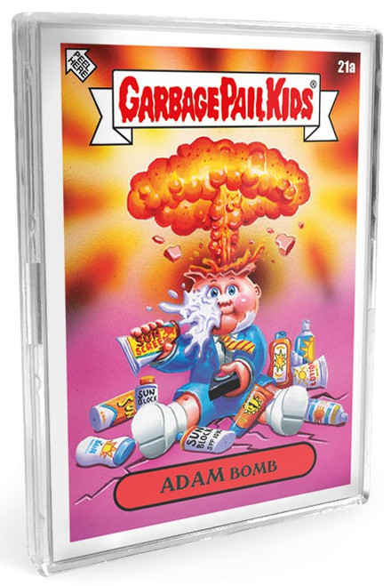 Garbage Pail Kids Topps Bizarre Holidays May Week 5 Set [10 Base Stickers PLUS 1 Green Border Parallel Sticker!]