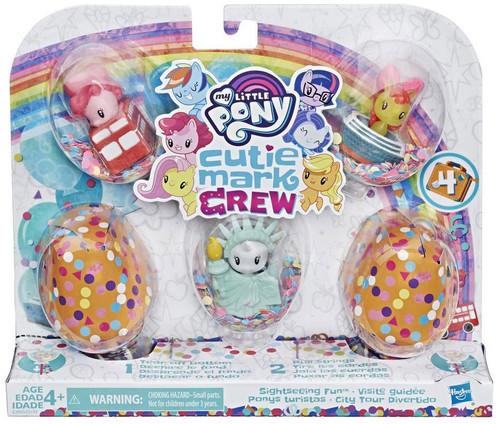 My Little Pony Cutie Mark Crew Series 4 Sightseeing Fun Mini Figure 5-Pack
