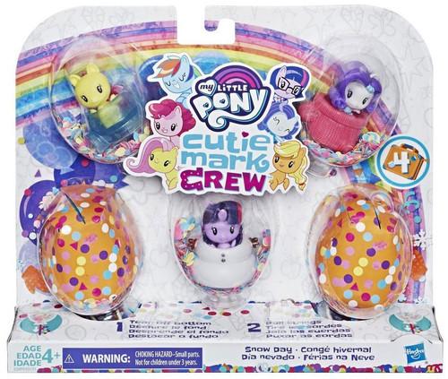 My Little Pony Cutie Mark Crew Series 4 Snow Day Mini Figure 5-Pack