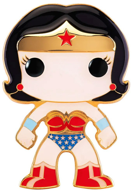 Funko DC Classic POP! Pins Wonder Woman Large Enamel Pin