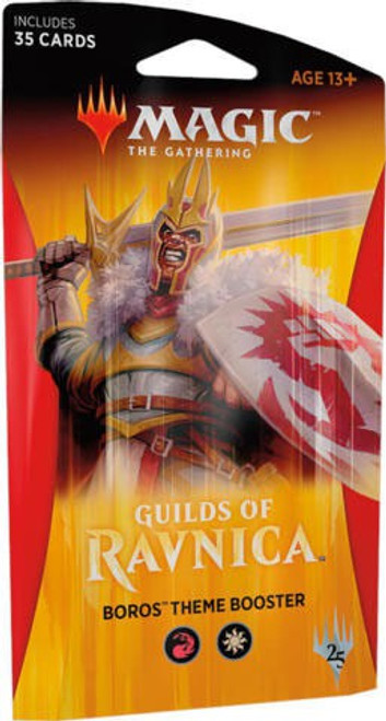 MtG Trading Card Game Guilds of Ravnica Boros Theme Booster Pack