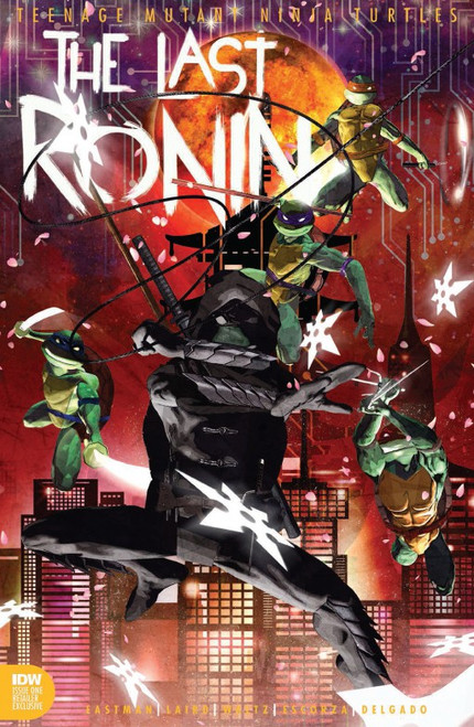 IDW Teenage Mutant Ninja Turtles #1 of 5 Last Ronin Exclusive Comic Book [Sean Anderson ToyWiz Exclusive Cover]