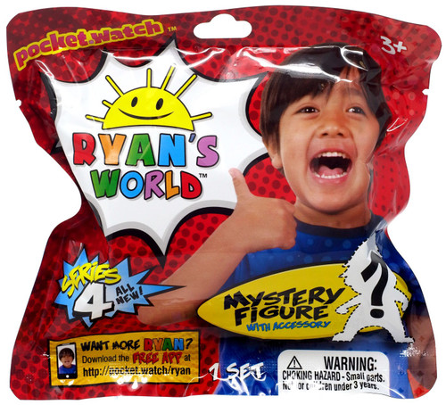 Ryan's World Mini Figure with Accessory Series 4 Mystery Pack