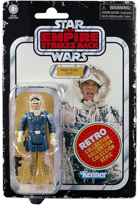 Star Wars A New Hope Retro Collection Han Solo Action Figure [Hoth]