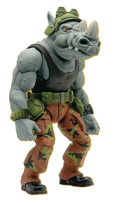 Teenage Mutant Ninja Turtles Ultimates Wave 3 Rocksteady Action Figure (Pre-Order ships May)