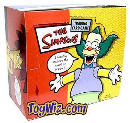 The Simpsons Trading Card Game Krusty Approved Booster Box [36 Packs]