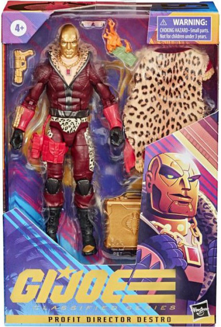 GI Joe Classified Series Wave 2 Profit Director Destro Action Figure