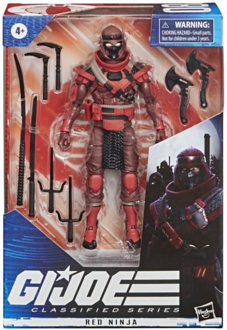 GI Joe Classified Series Wave 2 Red Ninja Action Figure