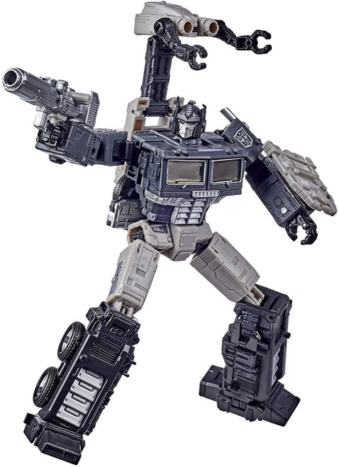 Transformers Generations War for Cybertron: Earthrise Optimus Prime Exclusive Leader Action Figure [Sparkless Alternate Universe]