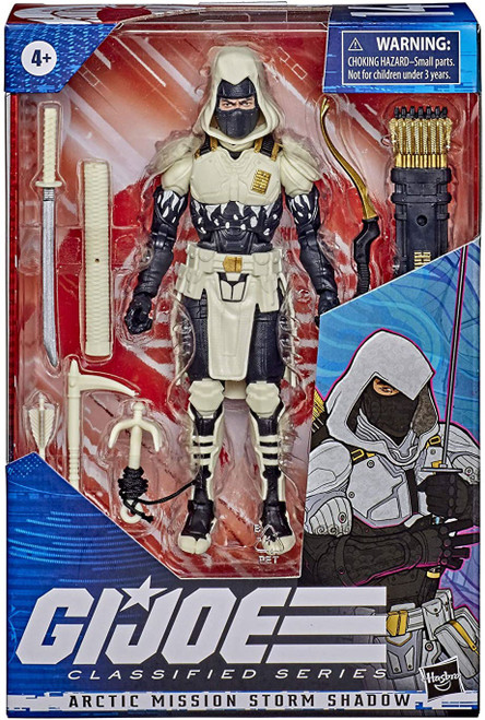 GI Joe Classified Series Arctic Mission Storm Shadow Exclusive Action Figure