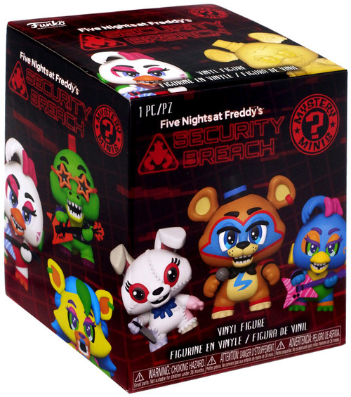 Funko Five Nights at Freddy's Mystery Minis Security Breach Mystery Pack