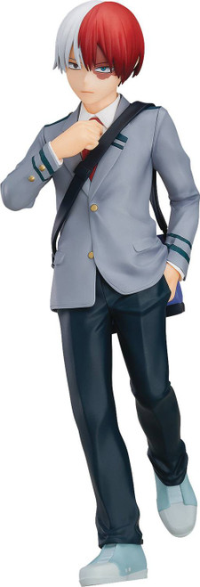 My Hero Academia Pop Up Parade Shoto Todoroki 7-Inch Collectible PVC Figure [School Uniform]