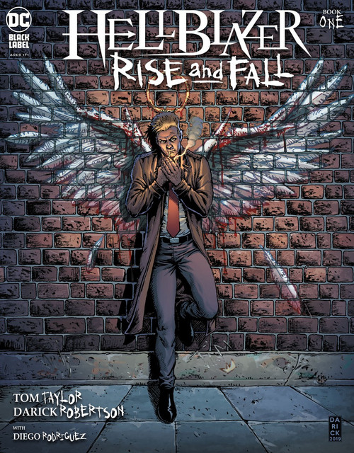 DC Hellblazer Rise and Fall #1 Comic Book