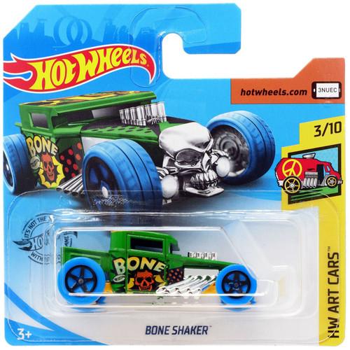 Hot Wheels HW Art Cars Bone Shaker Diecast Car #3/10 [Short Card]