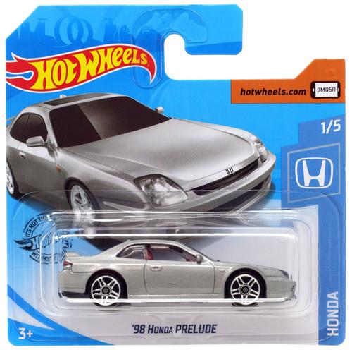Hot Wheels '98 Honda Prelude Diecast Car #1/5 [Short Card]