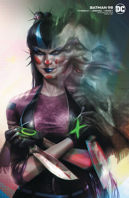 DC Batman #98 Joker War Comic Book [Mattina Variant]