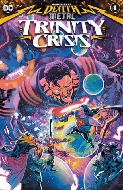 DC Dark Nights Death Metal Trinity Crisis Comic Book