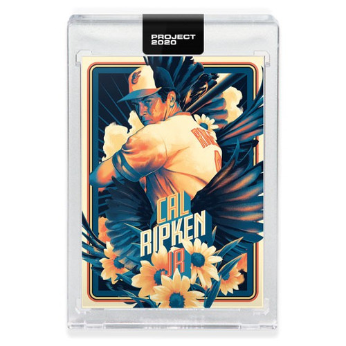 MLB Topps Project 2020 Baseball 1982 Cal Ripken Jr. Trading Card [#136, by Matt Taylor]