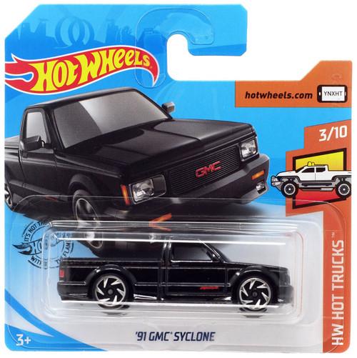 Hot Wheels HW Hot Trucks '91 GMC Syclone Diecast Car #3/10 [Short Card]