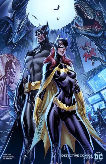 DC Detective Comics #1027 Joker War Comic Book [J Scott Campbell Batgirl Cover]