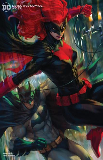 "DC Detective Comics #1027 Joker War Comic Book [Stanley ""Artgerm"" Lau Batwoman Cover]"