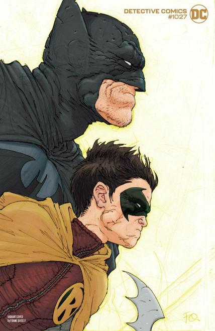 DC Detective Comics #1027 Joker War Comic Book [Frank Quitely Robin Cover]
