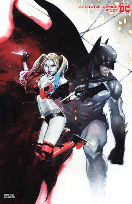 DC Detective Comics #1027 Joker War Comic Book [Olivier Coipel Harley Quinn Cover]