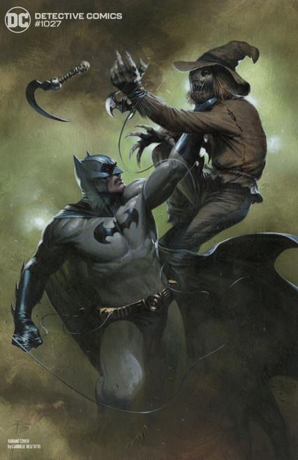DC Detective Comics #1027 Joker War Comic Book [Gabrielle Dell'Otto Scarecrow Cover]