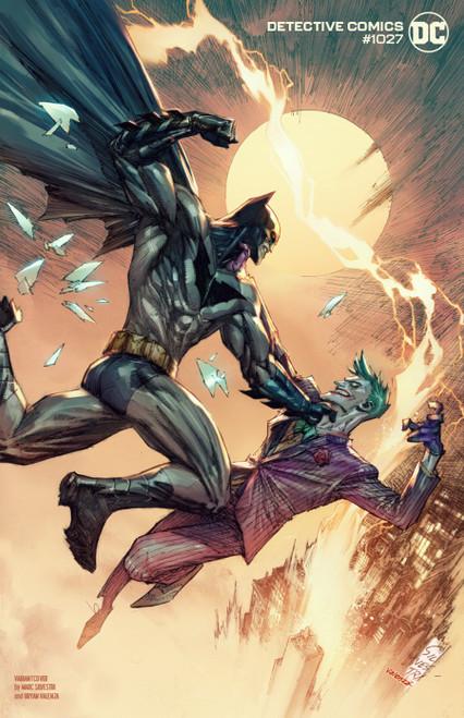 DC Detective Comics #1027 Joker War Comic Book [Mark Silvestri Joker Cover]