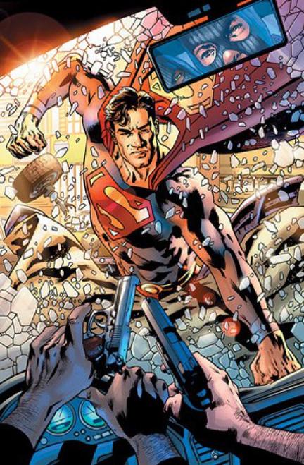 DC Superman #25 Comic Book [Bryan Hitch Variant, New Villain Synmar Debut]