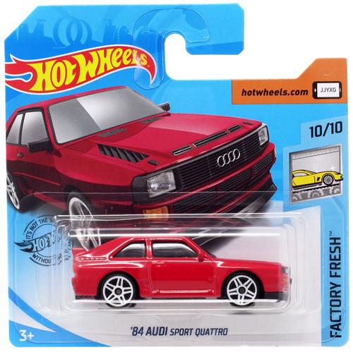 Hot Wheels Factory Fresh '84 Audi Sport Quattro Diecast Car #10/10 [Short Card]