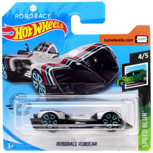Hot Wheels Speed Blur Roborace Robocar Diecast Car #4/5 [Short Card]