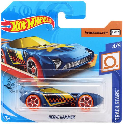 Hot Wheels Track Stars Nerve Hammer Diecast Car #4/5 [Short Card]