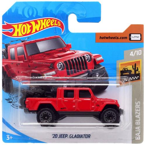 Hot Wheels Baja Blazers '20 Jeep Gladiator Diecast Car #4/10 [Short Card]