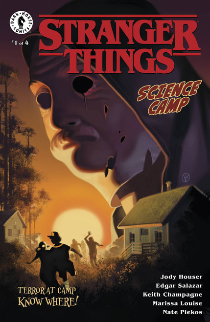 Dark Horse Stranger Things Science Camp #1 Comic Book [Viktor Kalvachev Cover A]