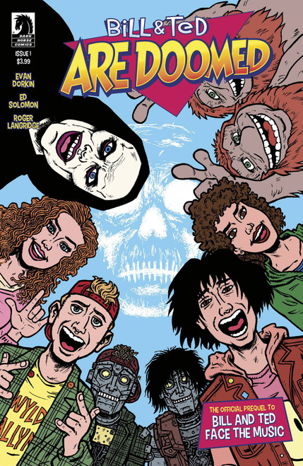 Dark Horse Bill & Ted Are Doomed #1 Comic Book [Evan Dorkin Cover A]