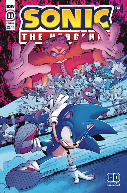 IDW Sonic The Hedgehog #33 Comic Book [Cover B]