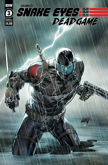IDW Publishing Snake Eyes Deadgame #3A Comic Book
