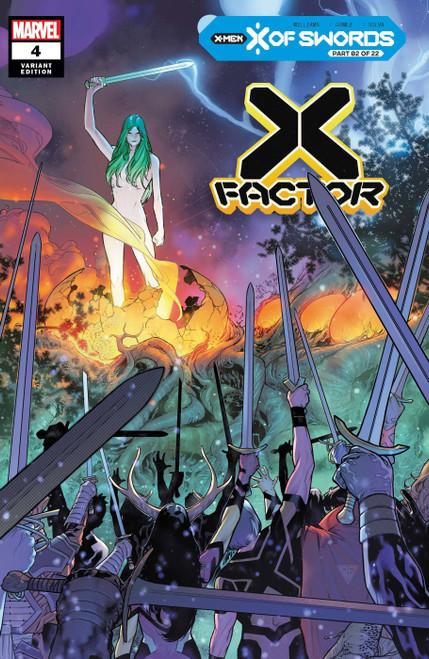 Marvel Comics X-Factor #4 X of Swords Comic Book [Silva Variant]