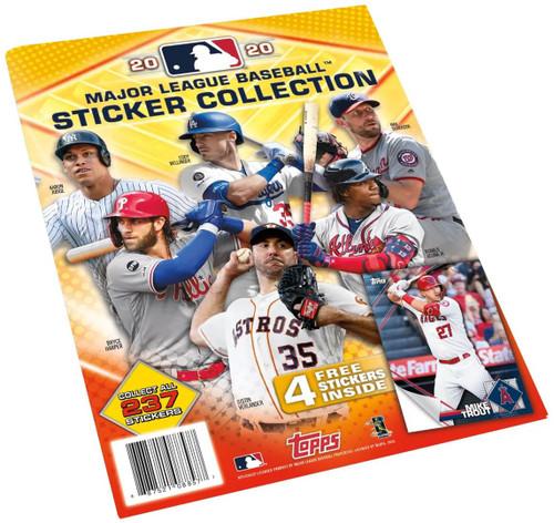 MLB Topps 2020 Baseball Sticker Collection Album