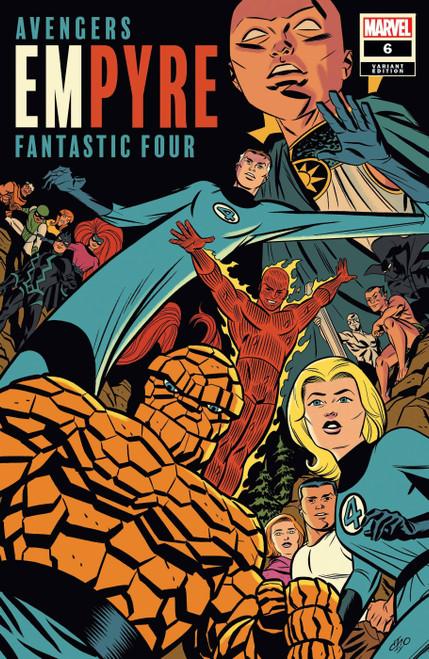 Marvel Comics Empyre #6 of 6 Comic Book [Michael Cho Fantastic Four Variant]