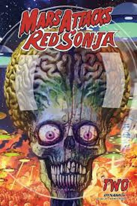 Dynamite Entertainment Mars Attacks Red Sonja #2 Comic Book [Cover B Suydam]