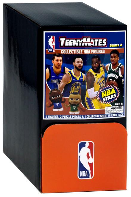 NBA TeenyMates Basketball Series 6 Mystery Box [32 Packs]