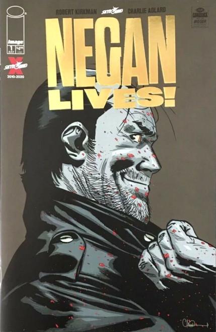 Image Comics Negan Lives #1 Comic Book [Gold Foil Variant]
